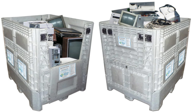 E-Waste Recycle Bins
